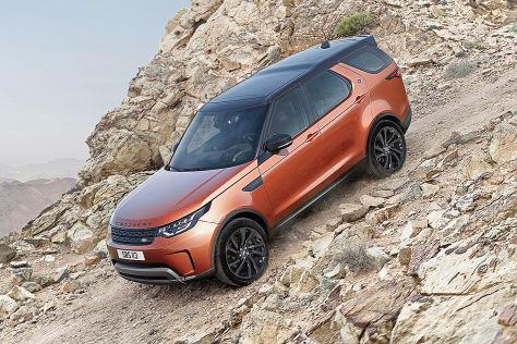 Land Rover Discovery 2017 Vorstellung Infos Technik