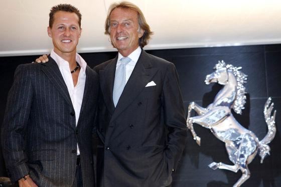 Schumacher & Montezemolo