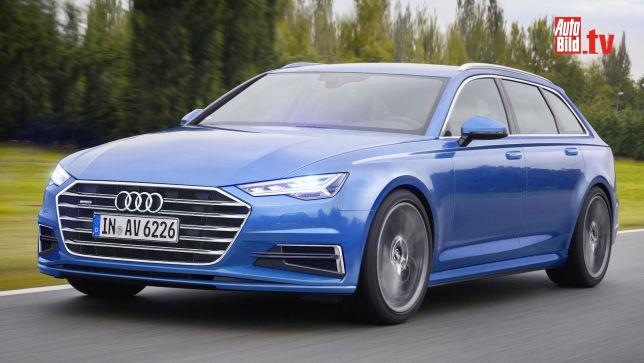 Video Audi A6 Avant 2018 Autobild De