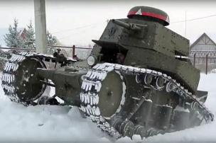 Der Fünf-Minuten-Panzer