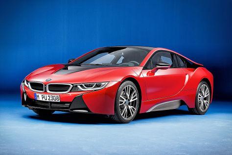 Bmw I8 Protonic Red Edition Genf 2016 Vorstellung