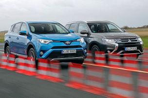 Duell der Japan-Hybrid-SUVs