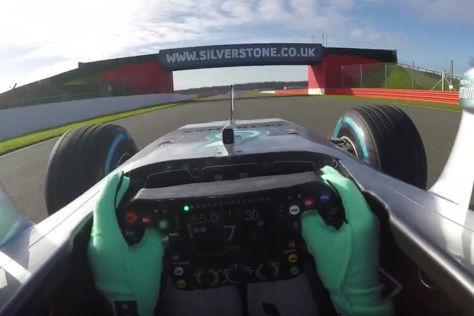 Formel 1: Mercedes-Rollout