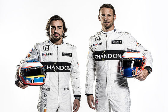 Alonso & Button