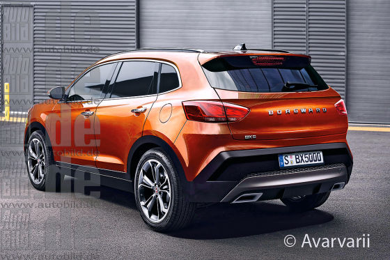 Borgward BX5 Illustration