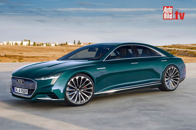 Vip Auto Leasing >> Video: Audi A9 C e-tron (2020) - autobild.de