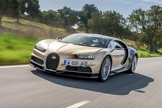 So sitzt es sich im Bugatti Chiron