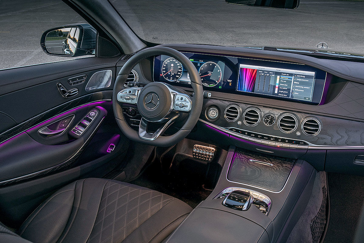 Mercedes C Class  Interior Photos