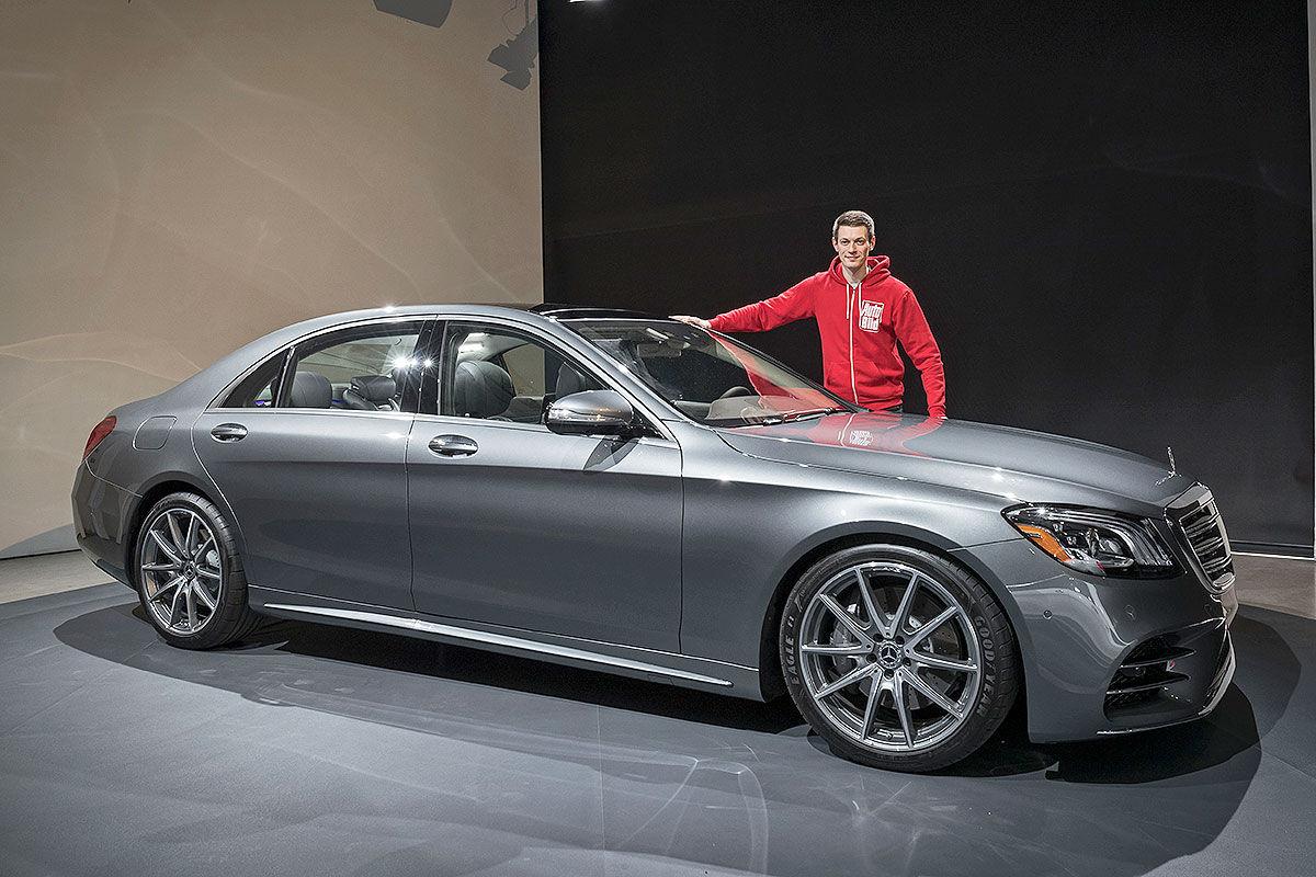 Mercedes S-Klasse Facelift (2017): Vorstellung