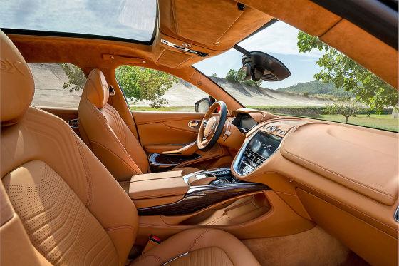 Aston Martin SUV mit AMG-Motor