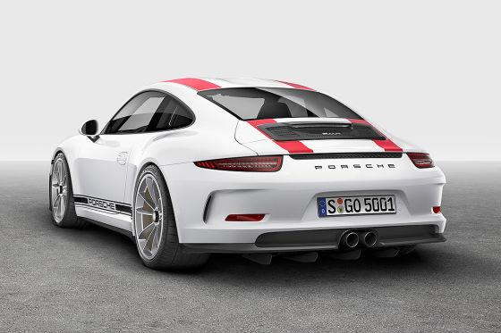 Porsche zeigt in Genf den 911 R