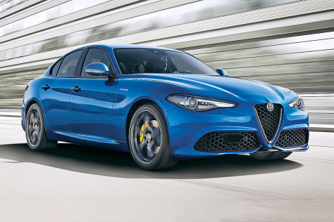 Alfa Romeo Giulia Carplay
