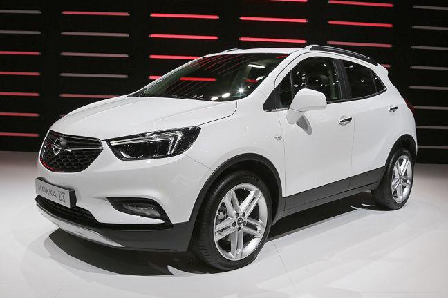 Video Opel Mokka Genf 2016 Autobild De