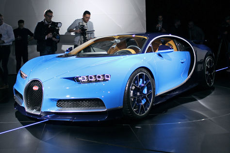 Bugatti Chiron 2016 Sensationelle Fakten Autobild De