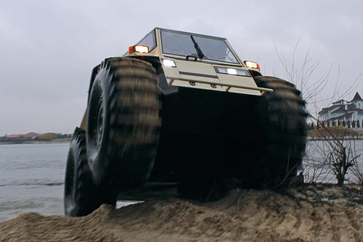 Alles zum Super-Offroader Sherp ATV