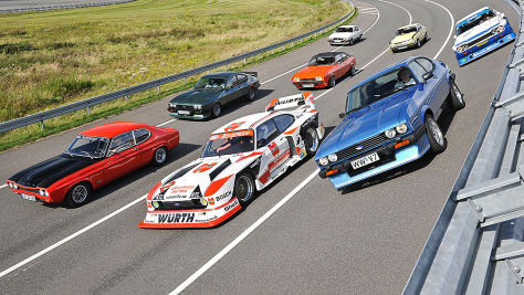 Ford Capri RS, Mako, Perana, Zakspeed: heiße Versionen