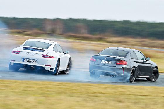 BMW M2 Porsche 911