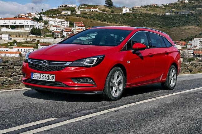 Video Opel Astra Sports Tourer 2016 Autobild De
