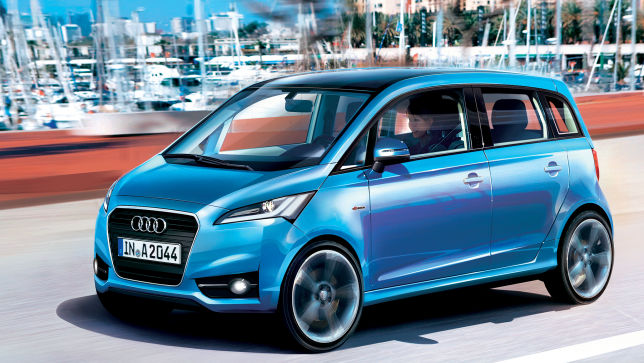 Video Audi A2 2016 Autobildde