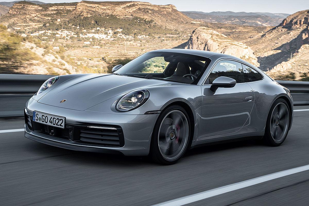 Bildergalerie Porsche 911/992 (2018)