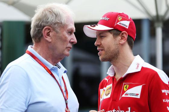Marko & Vettel