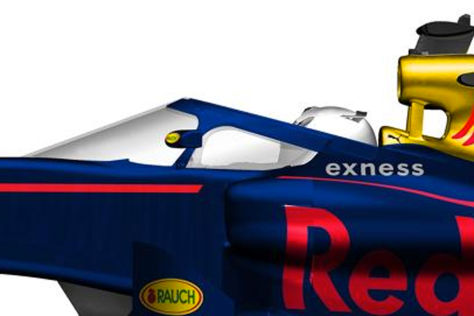 Formel 1: Red Bull zeigt Jet-Kuppel - Halo-Alternative für ...