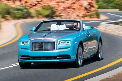 Luxus Cabrio Rolls Royce Dawn 2016 Im Test Fahrbericht