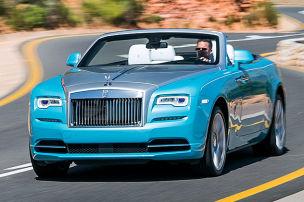 Erste Fahrt im teuersten Cabrio der Welt