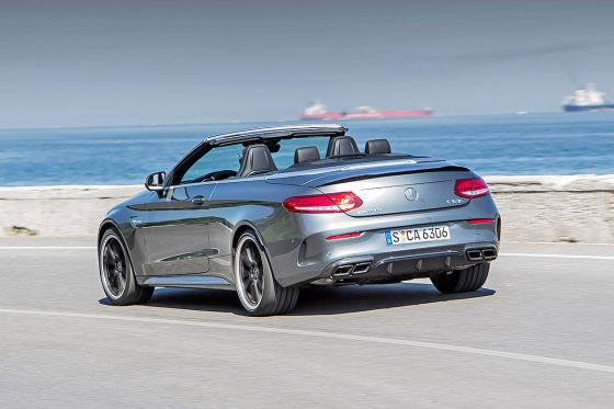Mercedes stärkstes C-Cabrio