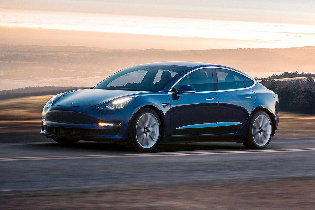 Tesla Model 3 (2017): Bilder, Test und Infos