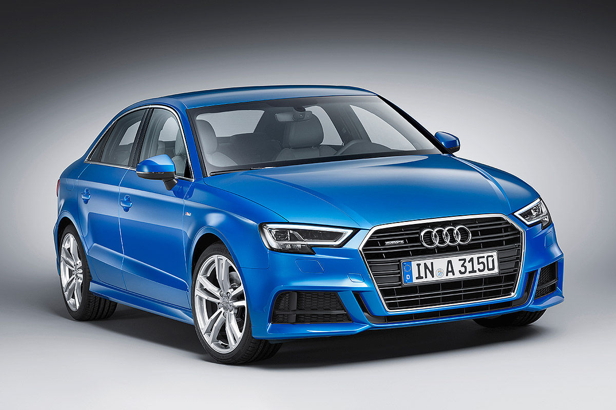 Permalink to Audi A3 Limousine Blue