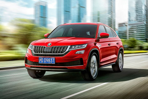 skoda kodiaq gt 2019 coup china bilder motoren. Black Bedroom Furniture Sets. Home Design Ideas