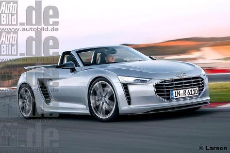 Audi R Vorschau Autobildde - Larson audi
