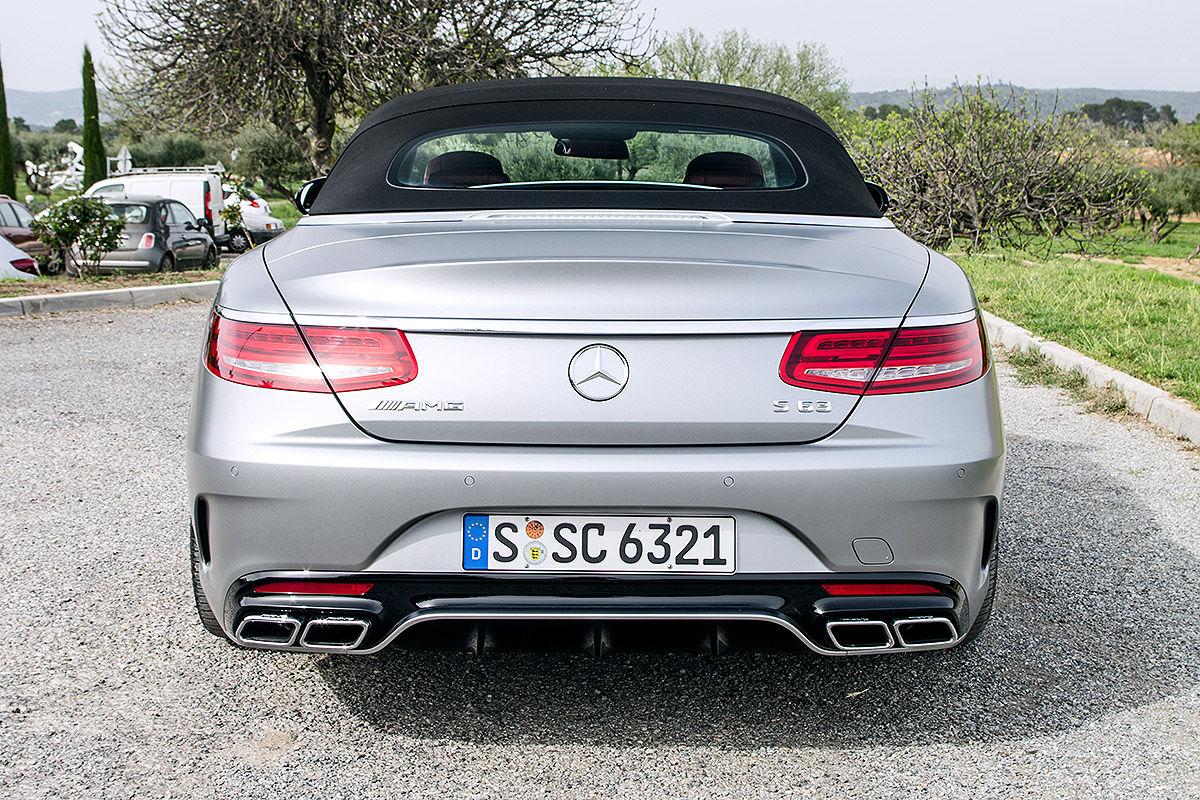 Mercedes-AMG S 63 Cabriolet 4Matic (2016): Fahrbericht