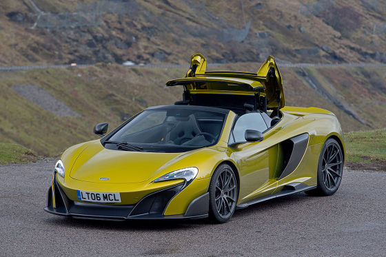 supercar mclaren 675lt spider 2016 fahrbericht. Black Bedroom Furniture Sets. Home Design Ideas
