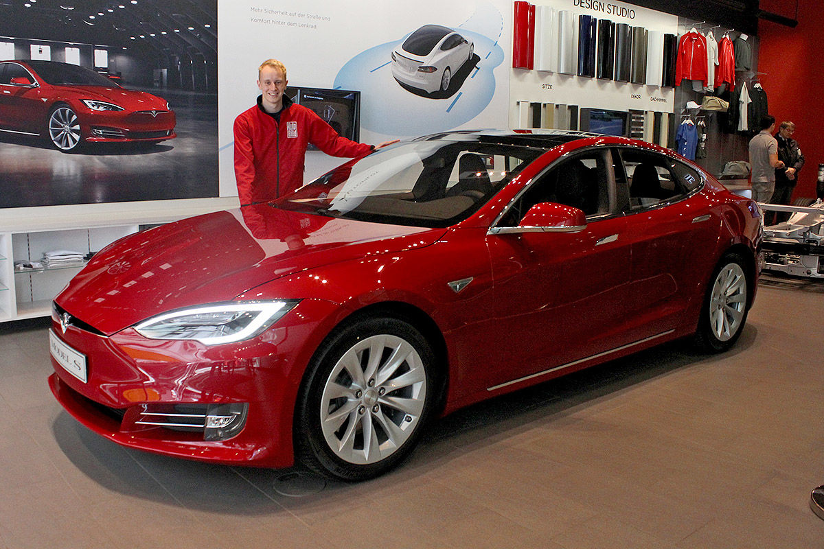 Tesla Model S Facelift (2017)