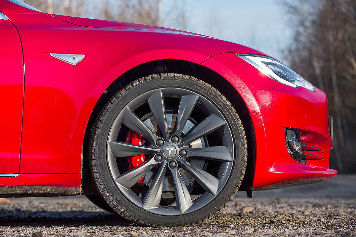 Tesla Model S Facelift (2017): Bilder und Infos
