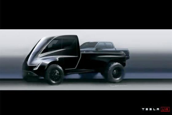 tesla e truck und e pick up vorstellung preis. Black Bedroom Furniture Sets. Home Design Ideas