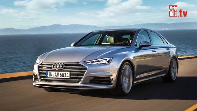 Video Audi A6 A6 Avant A7 2017 Autobild De