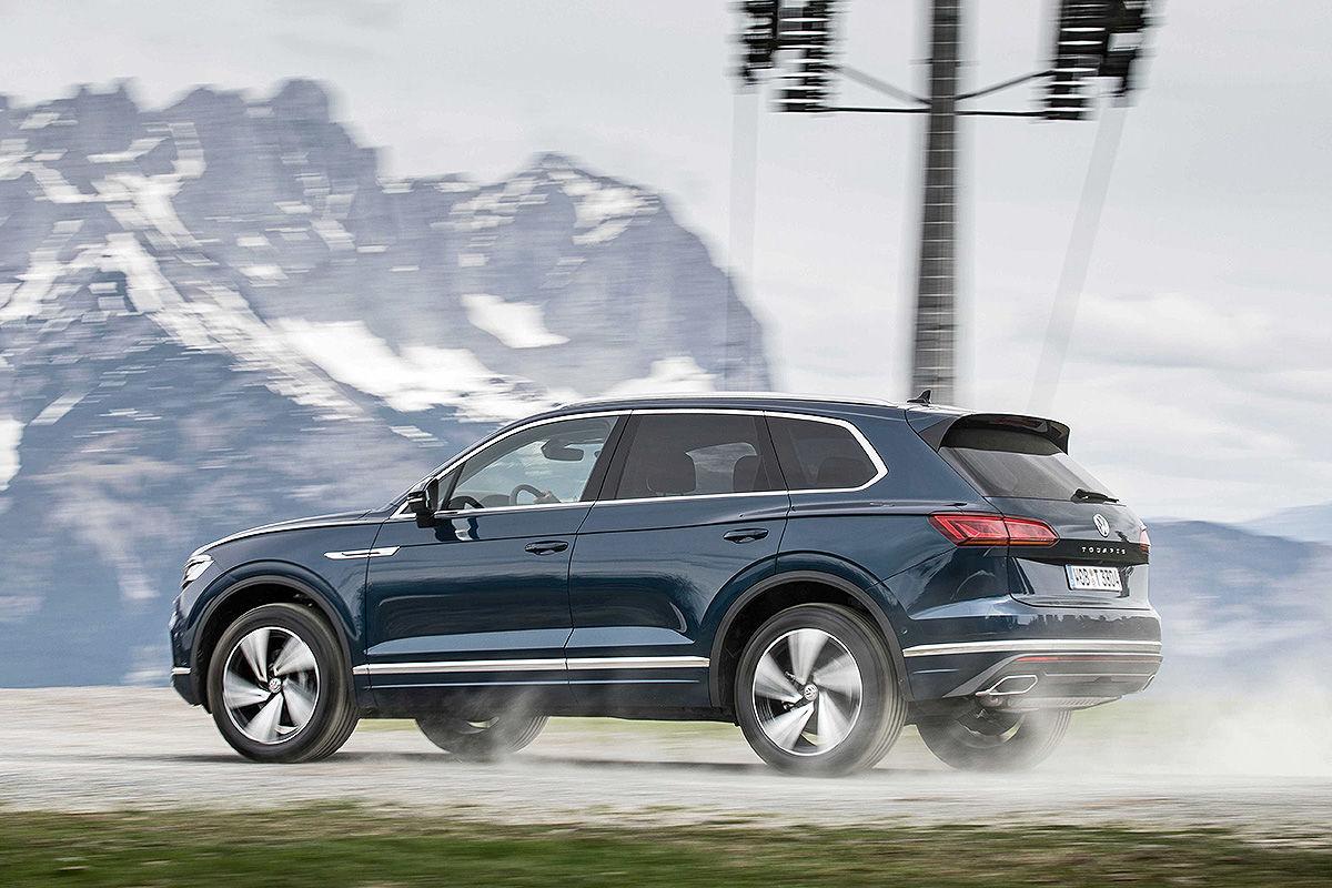 VW Touareg III (2018): Test, Info, Länge, Preis, Bilder