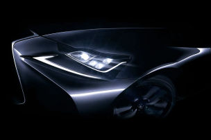 Lexus IS Facelift: Peking Motor Show 2016