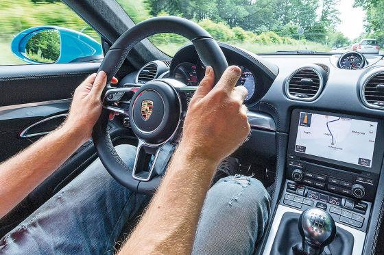 Porsche 718 Cayman S  !!! SPERRFRIST  11. Juli 2016   00:01 Uhr !!!