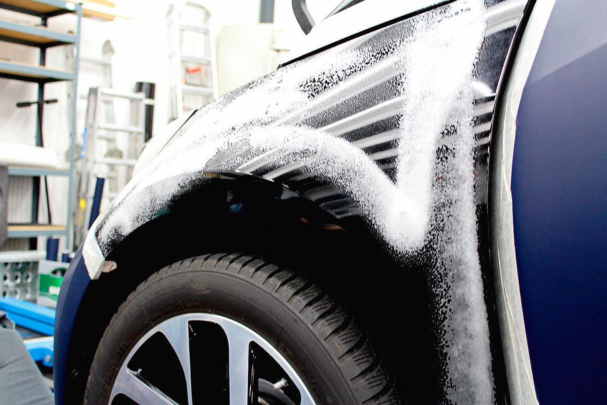 Autofolierung: Dodge Viper RT/10