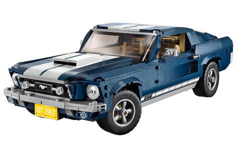 Ford Mustang Gt Fastback Baujahr 1967 Als Lego Modell Autobildde