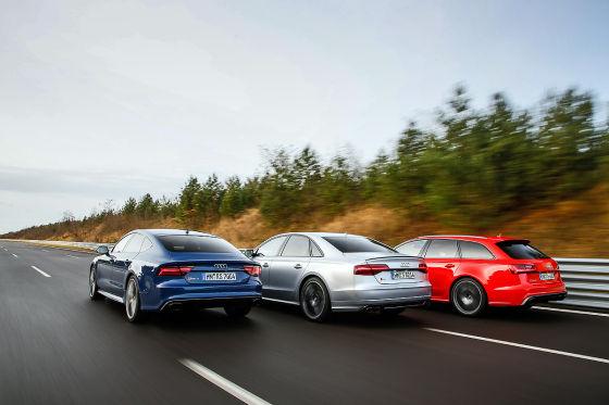 Audi RS6 Audi RS7 Audi S8