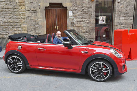 mini john cooper works cabrio 2016 im test fahrbericht. Black Bedroom Furniture Sets. Home Design Ideas