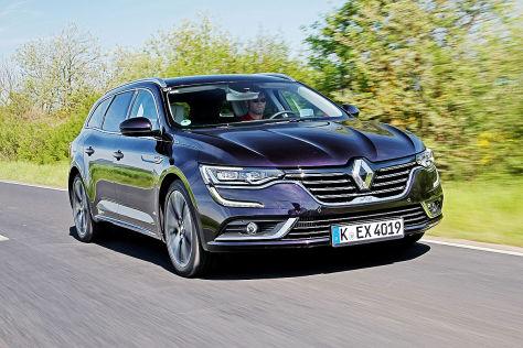 Renault Talisman Grandtour 2016 Fahrbericht Im 160 Ps