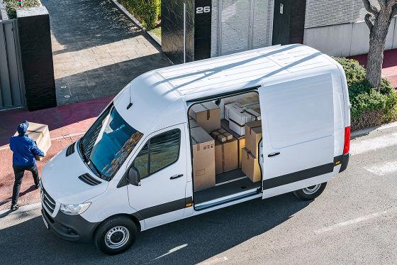 mercedes sprinter 2018 infos motoren preis innenraum. Black Bedroom Furniture Sets. Home Design Ideas