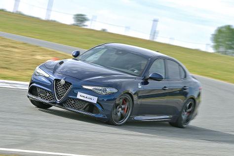 Alfa Romeo Giulia Quadrifoglio 2016 Fahrbericht