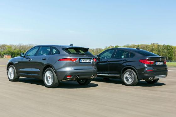 BMW X4 Jaguar F-Pace